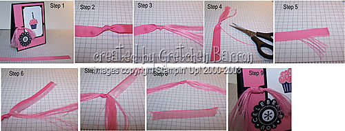 Frayed ribbon tutorial 1