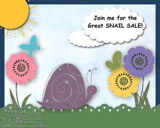 Snail sale-001